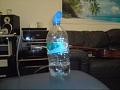 Killer Volvic mineral water bottle