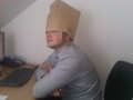 naughty baghead developer at work