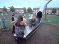 Fun times, bede park slide, leicester