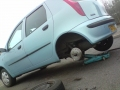 Fiat punto active brake pad repair