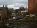 Leicester st nicholas circle traffic jam