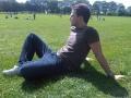 victoria park summer sunshine