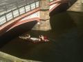 canoe race, river soar, leicester