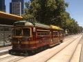 Free city circle tram, Melbourne, Australia