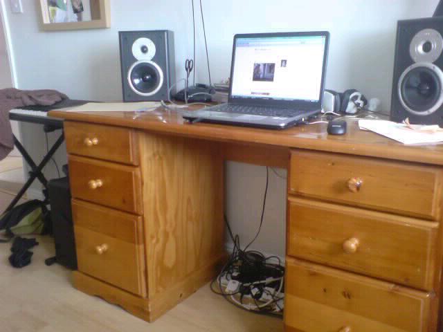 my bedroom desk