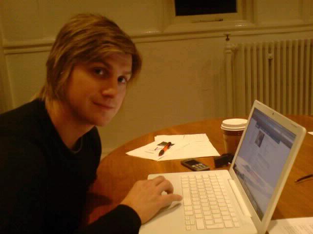 Mat and his mac