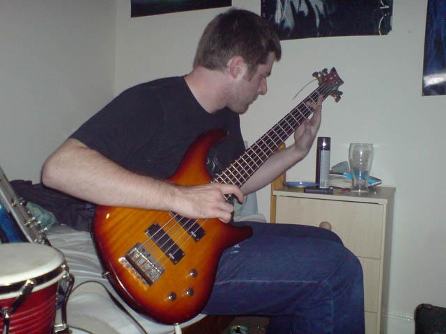 Amazing slap bassist John