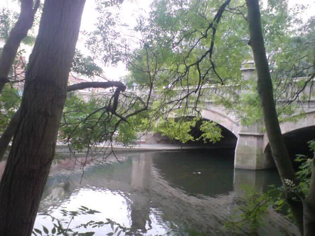 Bridge over canal