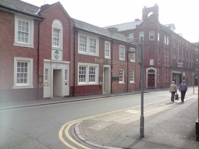 Rutland and Derby Arms, Millstone lane, Leicester