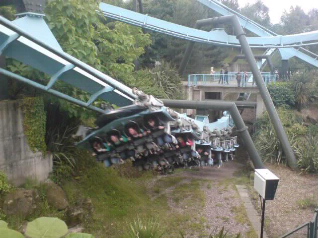 Air, rollercoaster, Alton Towers