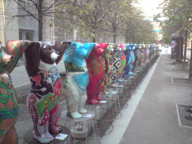 Teddies of the world in berlin