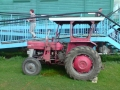 Tractor at notts county sailing club