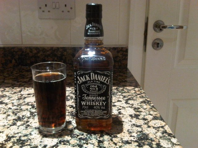 Jack Daniels and Coke new years eve 2009