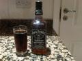 Jack Daniels and Coke new years eve 2009