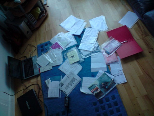 Sorting out the big red folder