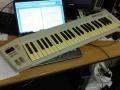 quickshot midi controller keyboard needs cleaning