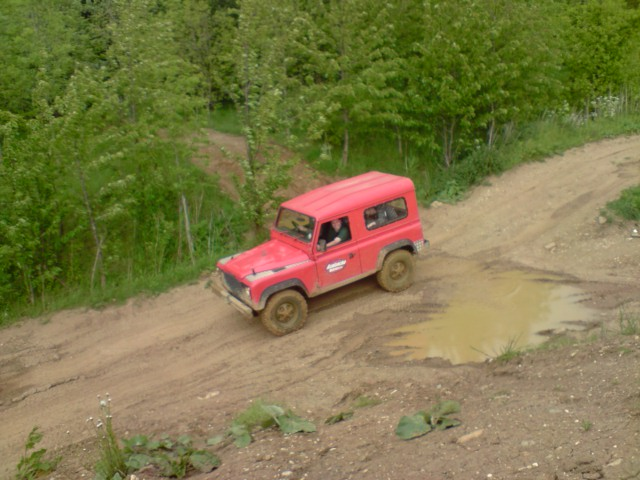 Land rover off road day