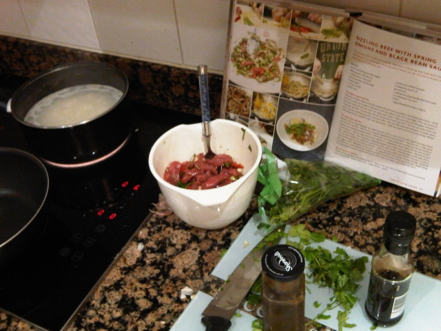 beef and blackbean sauce by jamie oliver