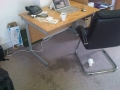 coffee laptop spill office disaster