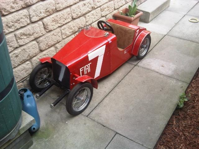 1920s Fiat Racing Car Model Red