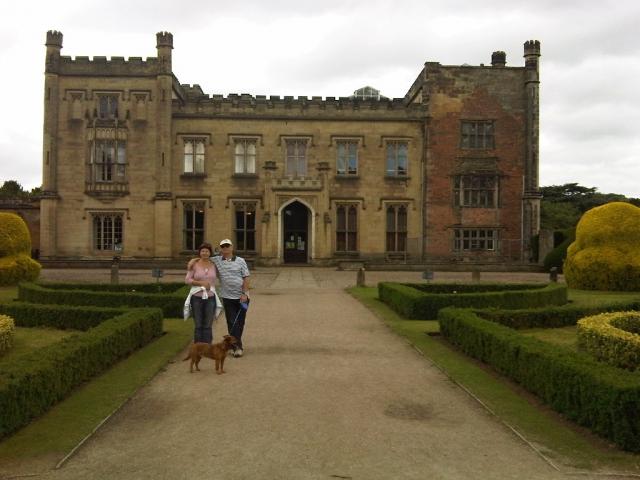 Parents at Elvaston Castle Country Park Derbyshire