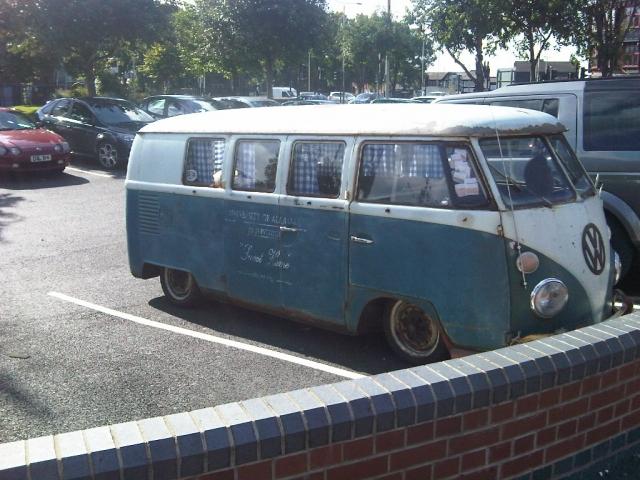 VW Camper Van from University of Alabama