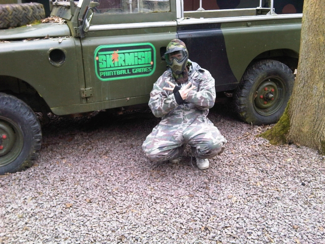 skirmish paintball games day, lutterworth
