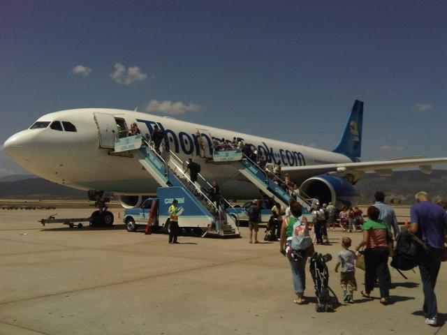 Airbus A330 passenger jet