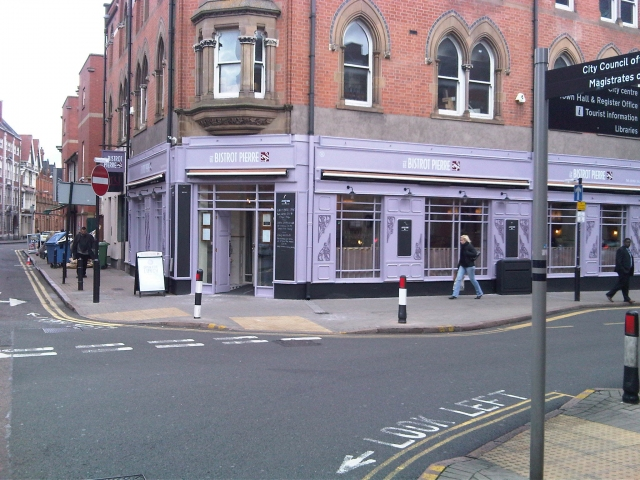 Le Bistrot Pierre Leicester Goes Light Purple