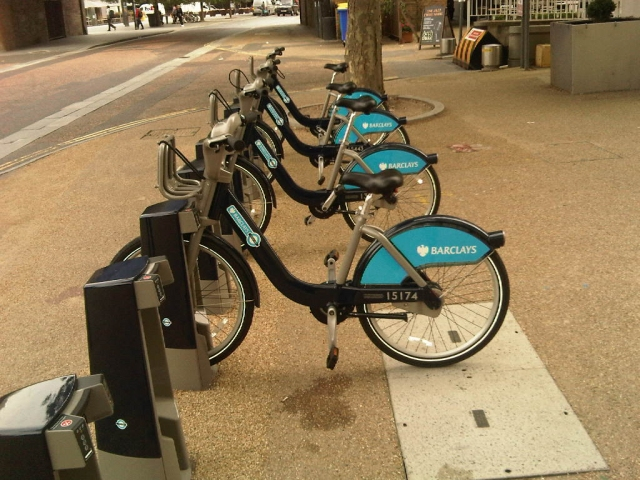 free cycle hire london