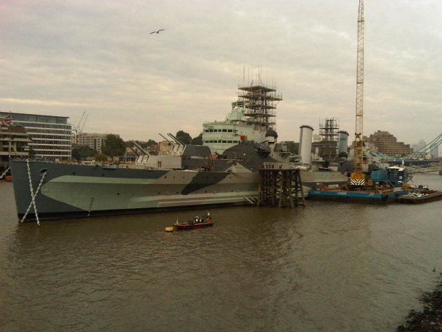 HMS Belfast, Imperial Musuem War Museum, London