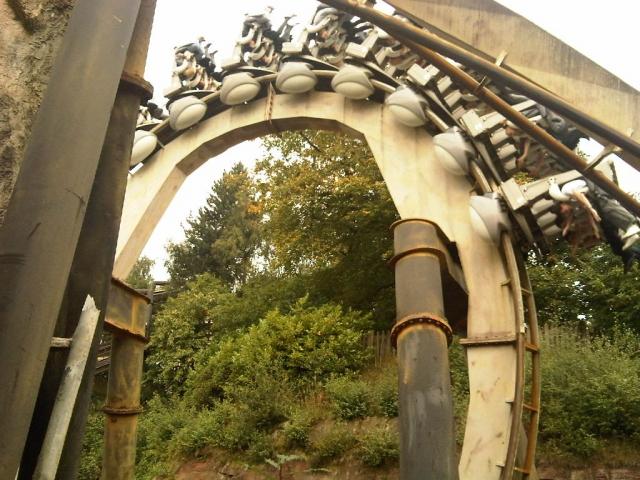 Nemesis Rollercoaster Alton Towers