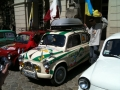 ZAZ-965 car rally, Lviv, Ukraine