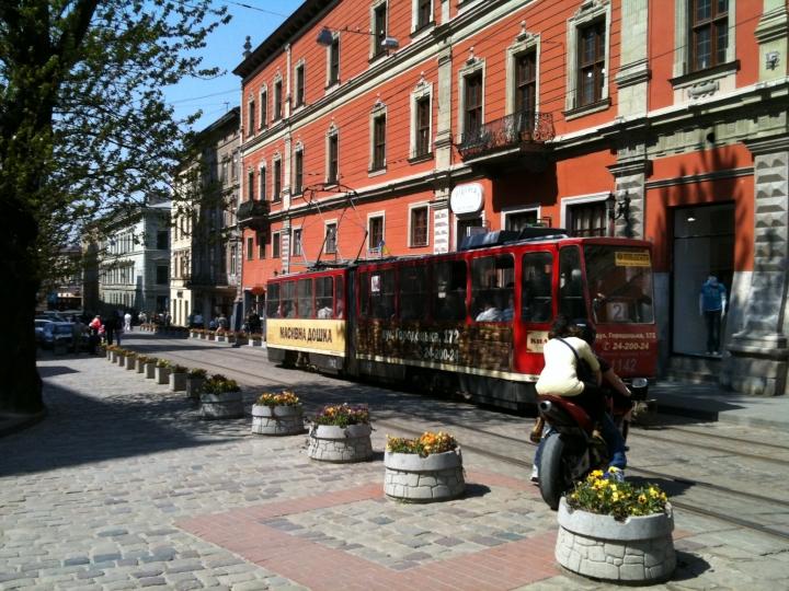 Tram, Lviv, Ukraine