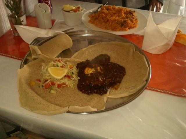Doro Firfir, Ethiopian Cuisine