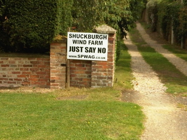 Shuckburgh Wind Farm, Say No