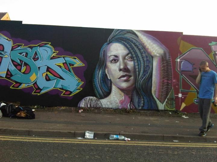Graffiti Art, New Park St, Leicester