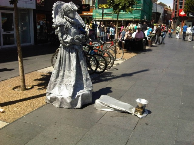 Another Living Statue, Leicester