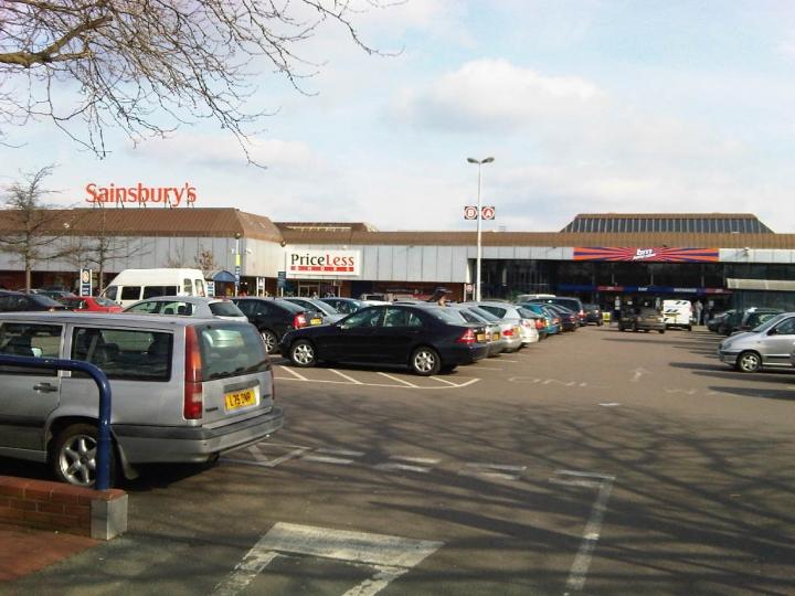Sainsburys car park