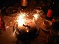 Ben  Harvey Birthday Cake Sparklers