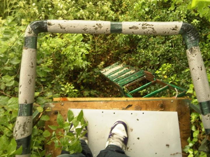 Bird Hunting Tree Hideout, Priors Marston