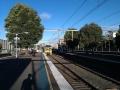 Platform 4, Homebush station, NSW