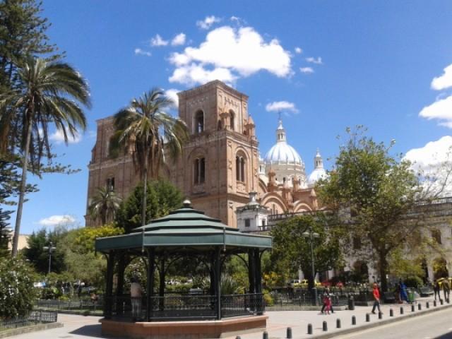 New Cathedral of Cuenca, Ecuador