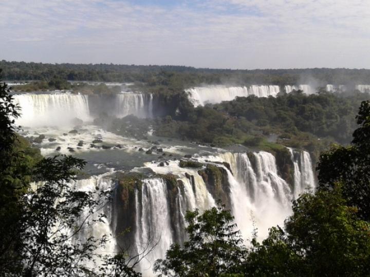Iguaçu Falls, Foz do Iguaçu, Paraná, Brazil