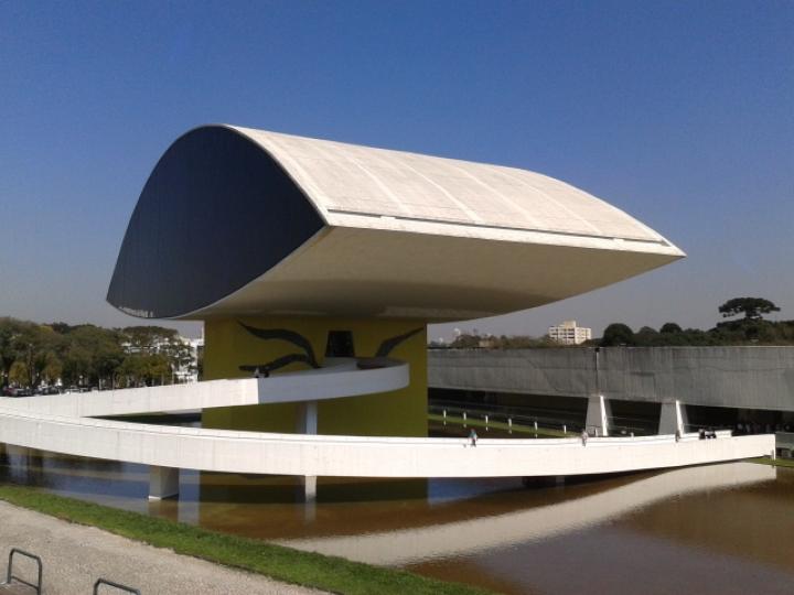 Oscar Niemeyer Musuem, Curitiba, Brazil