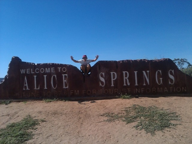 Welcome to Alice Springs, Australia