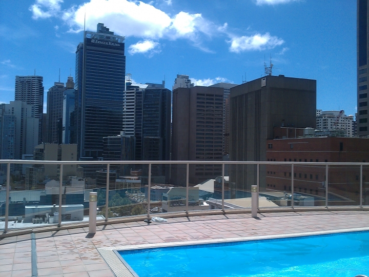 Swimming pool capital terrace building sydney travelling for Terrace building