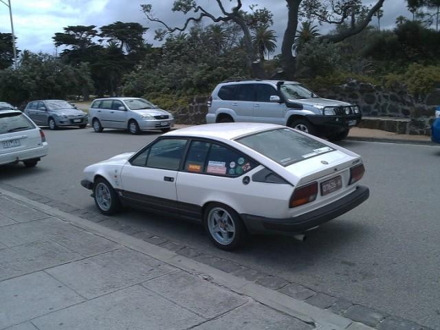 Alfa Romeo GTV 6, St Kilda, Melbourne