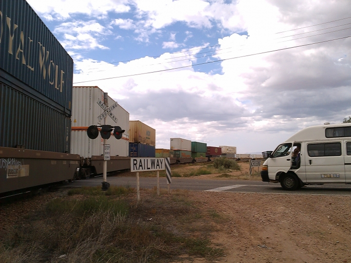 Long Cargo train, Port Pirie, SA