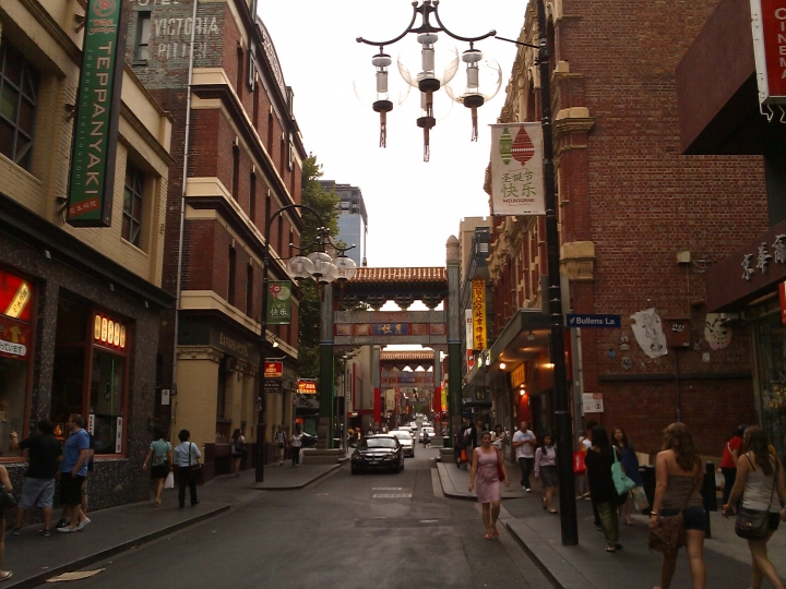 China Town, Lt Bourke St, Melbourne